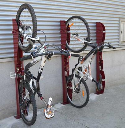 Aparcamiento bicicletas for Como guardar la bici en un piso